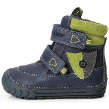 D.D.step chlapecká zimní obuv 029-300B modrá