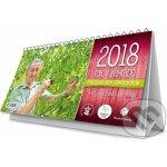 Rok v záhrade 2018 - stolový kalendár - Ivan Hričovský