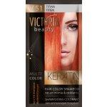 Victoria Beauty Keratin Therapy Tónovací šampón na vlasy V 51, Titian, 4-8 umytí