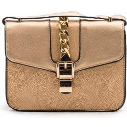 4209717f36 dámská crossbody kabelka se sponou zlatá Calzanatta 712035 ...