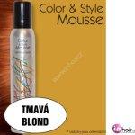 Omeisan Color & Style Mousse tužidlo (tmavá blond) 200 ml