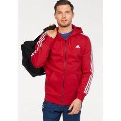Adidas Performance Mikina s kapucí ESSNETAILS 3S FZ HOOD FLEECE červená ae28207743