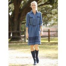2f62092aa43 Laura Kent džínové šaty modrá