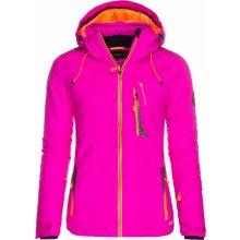 Alpine Pro dámská bunda GILLETTA růžová