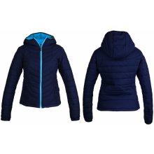 HI-TEC Lady Nera dámská prošívaná zimní bunda s kapucí modrá