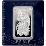 PAMP Investiční stříbrný slitek 100g