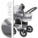 Baby Merc Q9 47 šedá + šedá světlá 2017