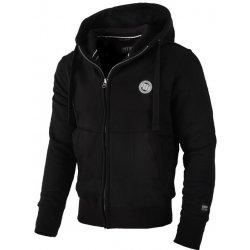ee62e1381be Pánská mikina PitBull West Coast na zip s kapucí Small Logo černá