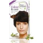 Hairwonder Přírodní dlouhotrvající barva BIO TMAVÁ HNĚDÁ 3
