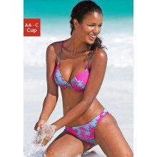 Venice Beach Push-up bikiny pink/modrá