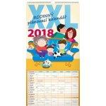 Kalendář nástěnný 2018 - Rodinný plánovací XXL