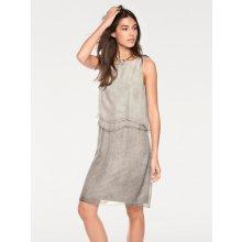 b1224dabddc0 Linea Tesini by heine šaty s vrstveným vzhledem světle šedá