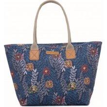 88a797c69c Brakeburn dámská kabelka modrá s květinami