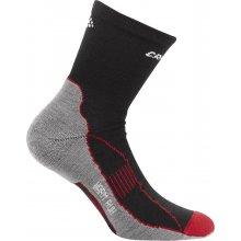 Craft ponožky Warm Run černá/červená