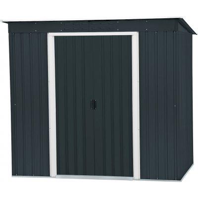 DURAMAX PENT ROOF 2,5 m² - antracit, síla plechu 0,33 mm