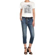 Pepe Jeans dámské modré 3 4 džíny Naomie s proužkem 07c15f28c0