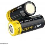Aspire Baterie INR 26650 40A 4300mAh