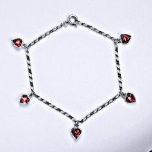Swarovski krystaly rose, srdíčka, R 1315
