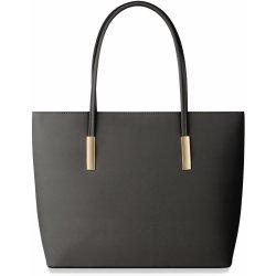 22119e09b Kabelka klasická dámská kabelka shopper bag šedá