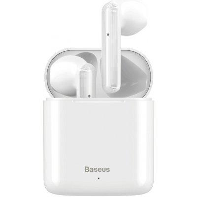 Bezdrátová Bluetooth sluchátka BASEUS Encok W09 - bílá; NGW09-01