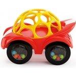 Bright Starts autíčko Oball Rattle & Roll červené