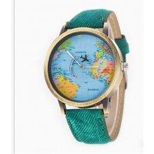 Altro s mapou světa zelené