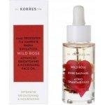 Korres Wild Rose - rozjasňující a vyživující pleťový olej s divokou růží 30 ml