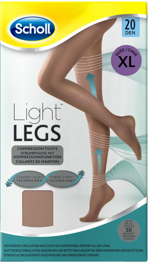 Scholl Kompresní punčochové kalhoty tělové 20 DEN Light LEGS od 299 Kč -  Heureka.cz 61c5bd53ff