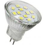 Spled LED žárovka MR11 2,4 W 12 V 200 L Teplá bílá
