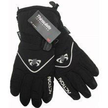 Action Mess dámské lyžařské rukavice černé