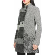 Desigual dámský kabát šedá