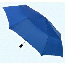 Deštník dámský skládací 3091 modrá