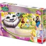 Dino Puzzle Fairies Zvonilka a Tvor Netvor v krabici 150 dílků