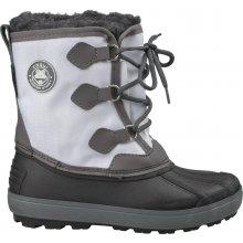 Coqui dětské zimní boty Eda černo-bílé
