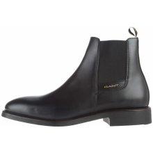 James Kotníková obuv Gant Pánské černé