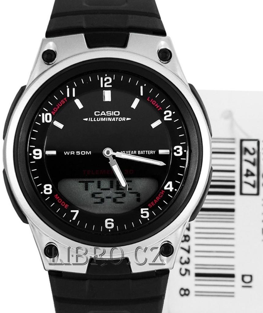 Casio AW-80-1A od 810 Kč - Heureka.cz 0a125c58f5