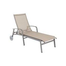 Hliníkové lehátko Ibiza, Karasek, 197x80x102 cm, hliníkový rám on chaise sofa sleeper, chaise recliner chair, chaise furniture,