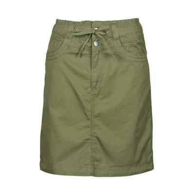 Esprit krátké sukně Skirts Woven khaki