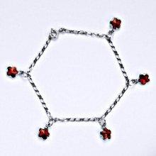 Swarovski krystaly siam, kytičky, R 1297