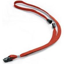 Šňůrka na krk DURABLE 811903 10 mm s bezpečnostní pojistkou Červená