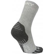 Husky ponožky All Wool sv. šedé