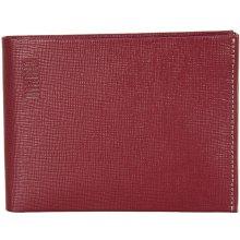 Mano pánská kožená peněženka 20206 červená