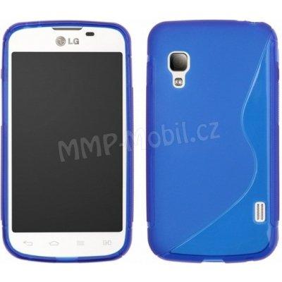 Pouzdro S-Case LG E455 Optimus L5 II Dual modré