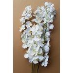 Umělá Orchidej bílá 130cm
