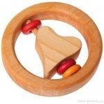 Grimm's Chrastítko srdíčko a červené kroužky