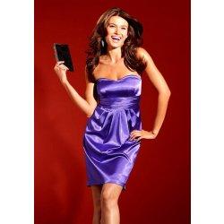 Saténové Společenské šaty Laura Scott v barvě lila alternativy ... abd7651830