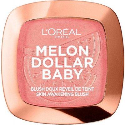 L`Oréal Paris Tvářenka Melon Dollar Baby Skin Awakening Blush 9 g
