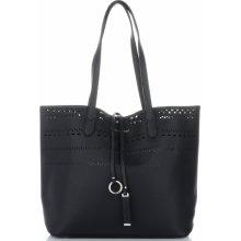 8d62370211 David Jones dámské kabelky s kosmetikou Ažurová černá