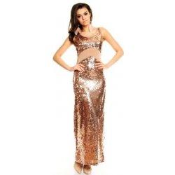 f739f67f429 zlaté plesové šaty - Nejlepší Ceny.cz