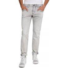 Camp David Worker Jeans, Grey Denim Aged